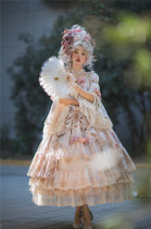 Miss Point ~ Elizabeth Meow~ Embroidery Lolita OP Special Version -Pre-order