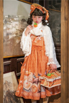 Magic Tea Party ~Everything goes well~ Qi Lolita Daily Long Version JSK -Pre-order