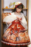 Magic Tea Party ~Everything goes well~ Qi Lolita Daily Short Version JSK -Pre-order