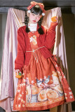 Magic Tea Party ~Everything goes well~ Qi Lolita Daily Long Version JSK