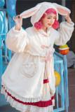 Woolen Rabbit Ears Lolita Long Coat