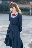 Top Student Pleated Uniform Lolita OP-Pre-order