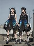The Butterfly Effect ~Punk Halloween Lolita Normal Waist JSK