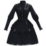 Assassinate Damn~Vintage Lolita Cape/Blouse/SK-Pre-order
