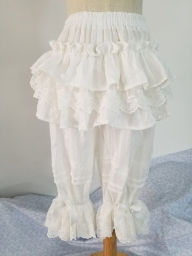 Sweet Cotton Ruffles Lolita Bloomers 60cm&70cm&80cm