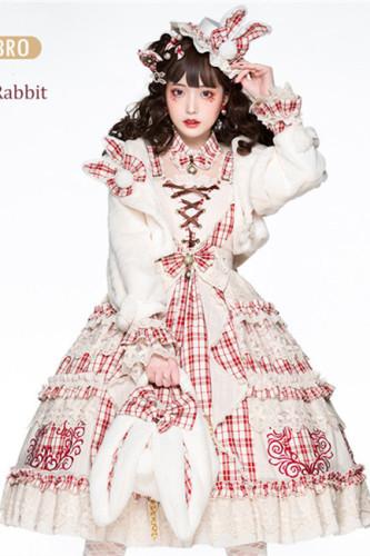 YUPBRO Lolita~Miss Rabbit~Lolita JSK-set-Pre-order