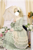 Miss Point ~ Alisa~ Lolita OP Pure Color Maid Version -Pre-order
