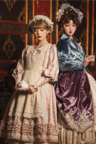 Miss Point ~ Alisa~ Lolita OP Striped Maid Version -Pre-order