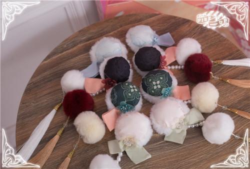 Pink Up ~Panda 4.0 ~Qi Lolita Headdress