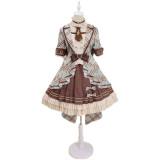 Alice Girl ~Peppermint Chocolate Lolita Singing Dresses -Pre-order