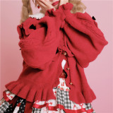 Sweet Knitted Lolita Cardigans -Pre-order