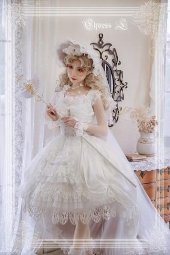 Elpress L ~ Paradise Kiss Soft Bridal Lolita JSK -Pre-order