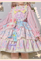Dolls Party ~The Rainbow Circus 2.0~ Sweet Lolita OP/Salopette  -Pre-order