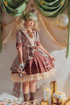 Alice Girl ~Peppermint Chocolate Lolita Singing Dresses -Pre-order