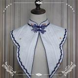 NyaNya Lolita Boutique ~Over the Sea the Moon Shines Bright Lolita Collar -Pre-order