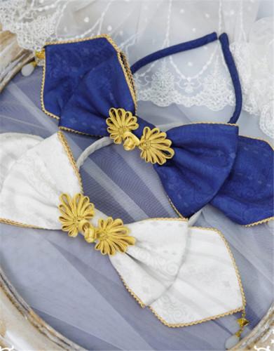 NyaNya Lolita Boutique ~Over the Sea the Moon Shines Bright Lolita Accessories -Pre-order