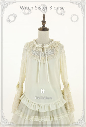 Lost Tree ~Witch Time * Die Zeithexe Sister Lolita Blouse -Pre-order