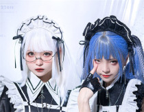 Lilith House ~Cyber Maid Maid Lolita Accessories - In Stock
