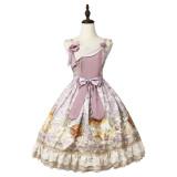 Magic Tea Party ~Treading On Grass Daily wear Qi Lolita JSK Version II -Pre-order