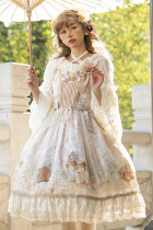 Magic Tea Party ~Treading On Grass Daily wear Qi Lolita JSK Version I -Pre-order