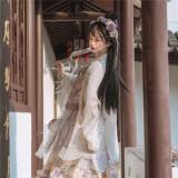 Magic Tea Party ~Treading On Grass Lolita Long Coat -Pre-order