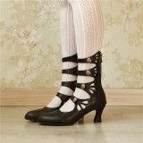 Mary Jane Lolita  Ankle Boots -Pre-order