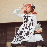 Sweet Cow High Waist Lolita JSK -Pre-order