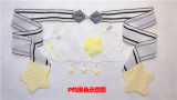 Sweet Clouds Embroidery Lolita Apron -Pre-order