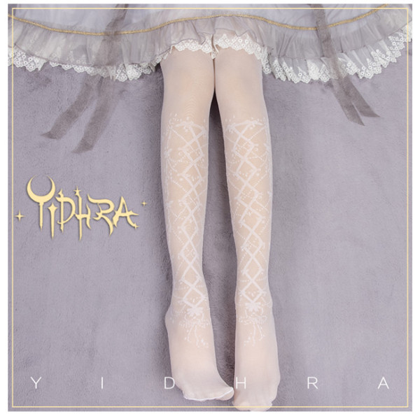 Yidhra Lolita ~The Butoh Invited by the Stars Lolita Above Knee Socks