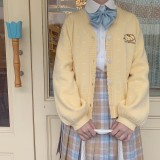 Sweet Hearts Cardigan Kyouko and Sanrio Collaboration Works Blue Size L - In Stock