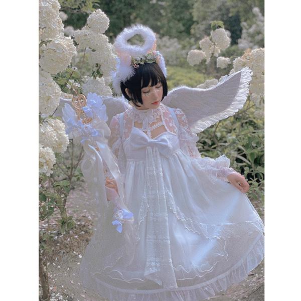 Diamond Honey ~Oil Painting Sweet Lolita OP