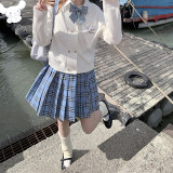 Double Line Buttons Long Sleeves Sweet Cardigan by Kyouko and Sanrio Red Size XL - In Stock
