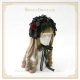 Cutie Creator ~Little Dorrit~ Lace Bow Beadchain Lolita Headband