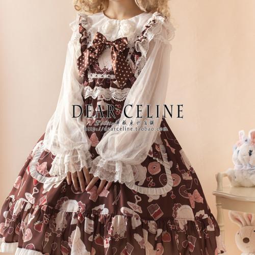 Dear Celine ~Annie's Dessert Workshop Lolita Blouse -Pre-order