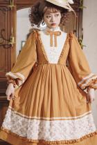 Miss Point ~Margaret Daily Wear Cotton Lolita OP -Pre-order