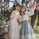 Miss Point ~Margaret Daily Wear Cotton Lolita Skirt -Pre-order