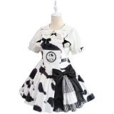 Alice Girl ~Sweet Milk Bow Lolita Blouse -Pre-order