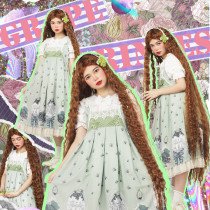 Magic Tea Party ~Grape Princess Sweet Lolita Jumper -Ready Made
