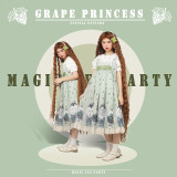 Magic Tea Party ~Grape Princess Sweet Lolita Jumper -Pre-order