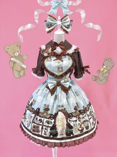 Fluff Mollie ~Chocolate Chef Lolita Salopette -Pre-order