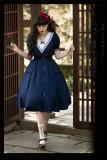 Lo-cyan Lolita ~Listen to the Waves Navy Summer Lolita OP -Pre-order