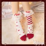 Yidhra Lolita ~ Think of the World in a Sweet Way Lolita Short Socks