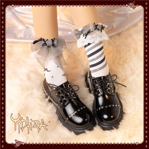 Yidhra Lolita ~ Think of the World in a Sweet Way Lolita Short Socks