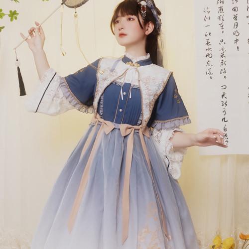 Withpuji Lolita ~Embroidery Qi Lolita OP