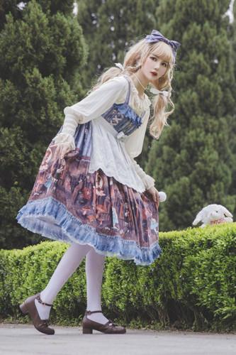 Infanta ~Alice in the Dark Forest Lolita JSK -Pre-order