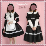 Pumpkin Cat Lolita ~Classical Dolls Lolita OP -Pre-order
