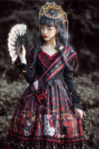 Queen of Hearts Gothic Lolita OP -Pre-order