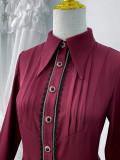 Little Dipper ~Scryer Vintage Long Sleeves Lolita Blouse -Pre-order