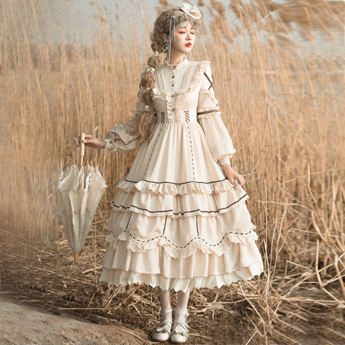 The Shepherdess Classic Lolita OP 2 Wear Ways