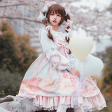 Doggie Donuts Daily Wear Lolita JSK + Blouse